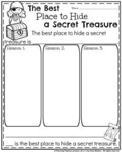 Back to School First Grade Worksheets - Planning Playtime