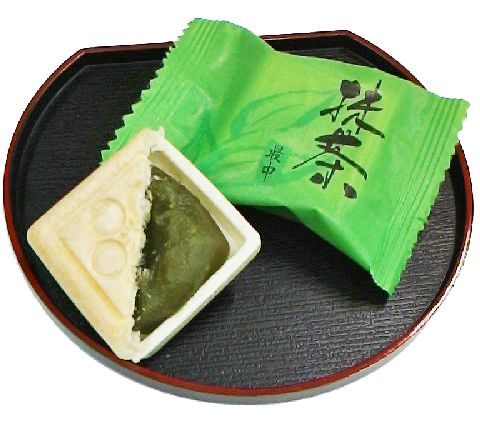 抹茶最中 - 娘娘万頭の山中石川屋|石川県山中温泉の和菓子店