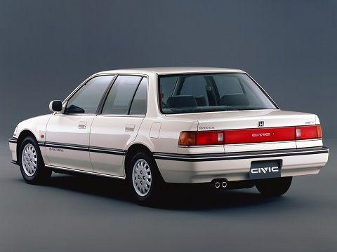 Honda Civic Sedan 1988 1991 Brought My 1990 Blue Ex Model Back From Usa Drove It For A While Around Ireland Honda Civic Honda Mobil