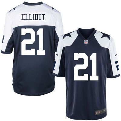 Men s Dallas Cowboys Ezekiel Elliott Nike Navy Alternate Game Jersey-size  small 504f0c7c8