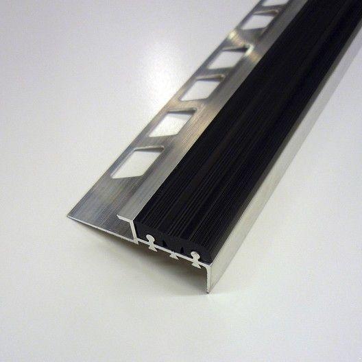 Nez De Marche Antidérapant Noir L 5 6 X L 125 Cm Leroy