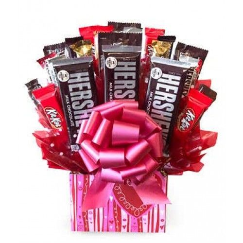 Order chocolates in USA | Sweetheart candy, Candy bouquet ...