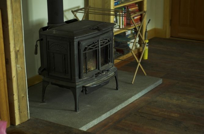 How To Build A Wood Stove Platform Google Search Pellet