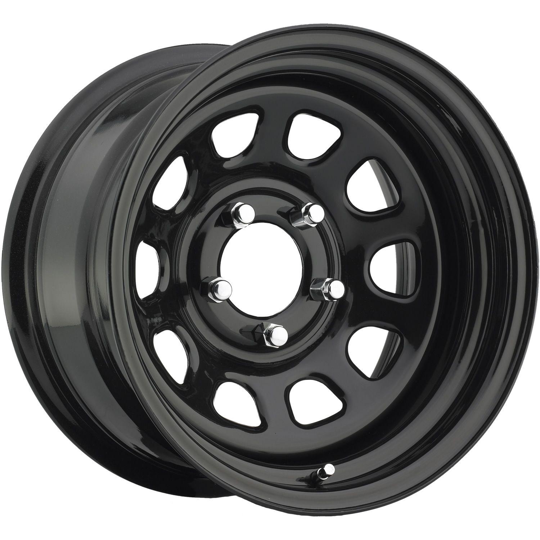 Pro Comp Series 51 15x8 19 In 2020 Pro Comp Black Wheels Gloss Black