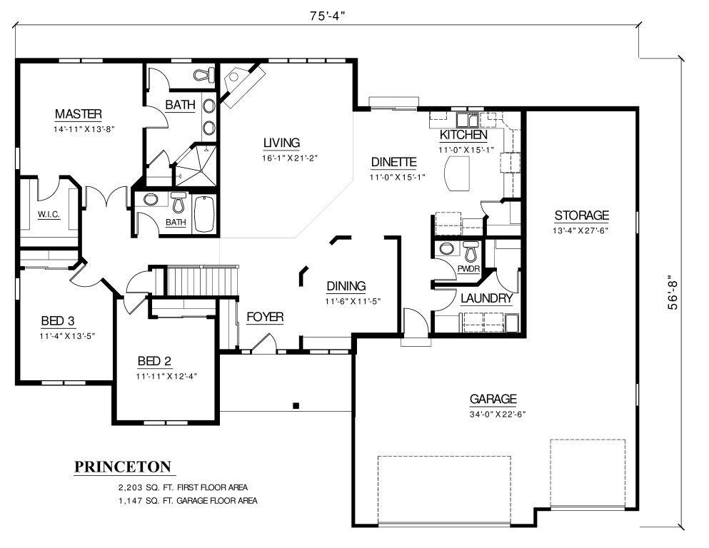 Brookfield Custom Floor Plans