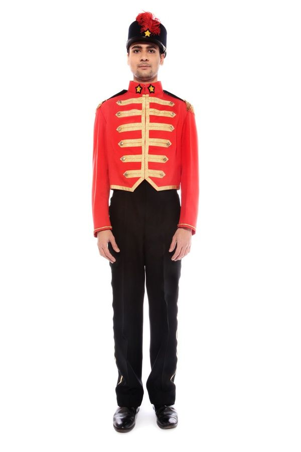 The Nutcracker Cosplay Toy Solider Costume Fancy Dress Ballet Outfits Mens Kids