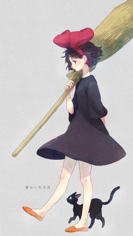 Kiki in Little Witch Academia by KR0NPR1NZ on DeviantArt | Other ...
