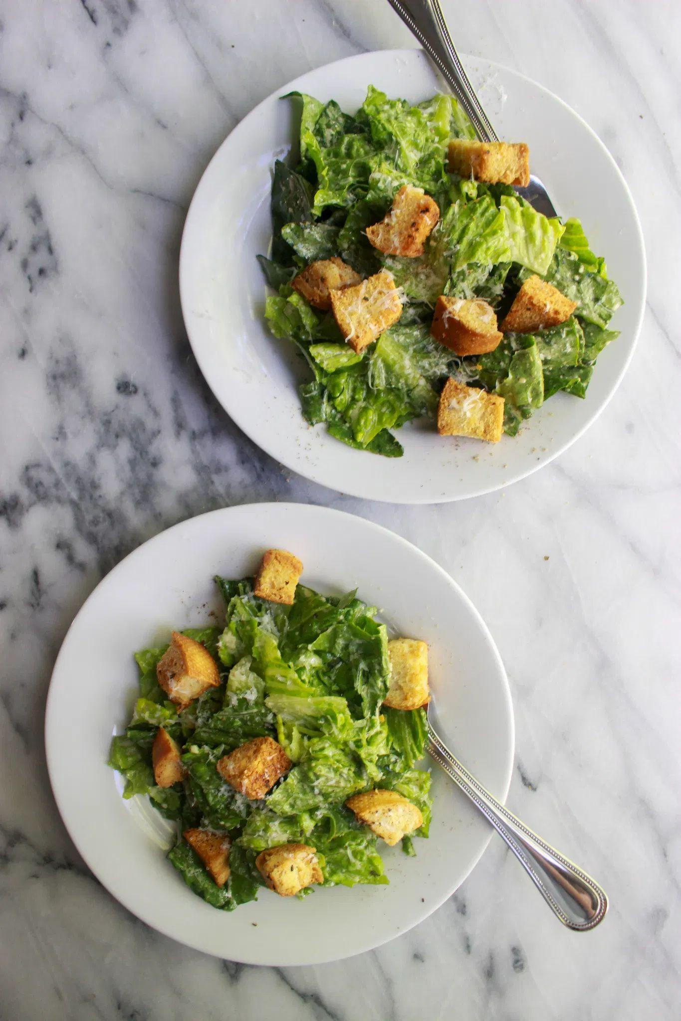 Caesar Salad Recipe No Mayo