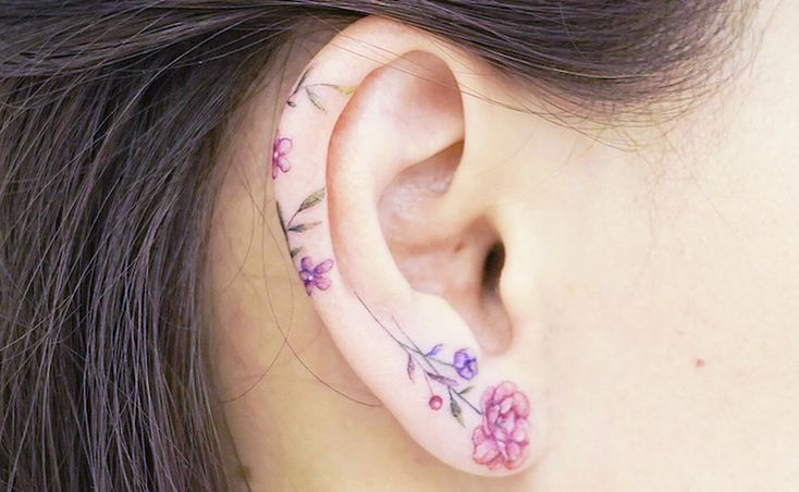 Ear Tattoo: 60 BEAUTIFUL Ideas That Will Enchant You