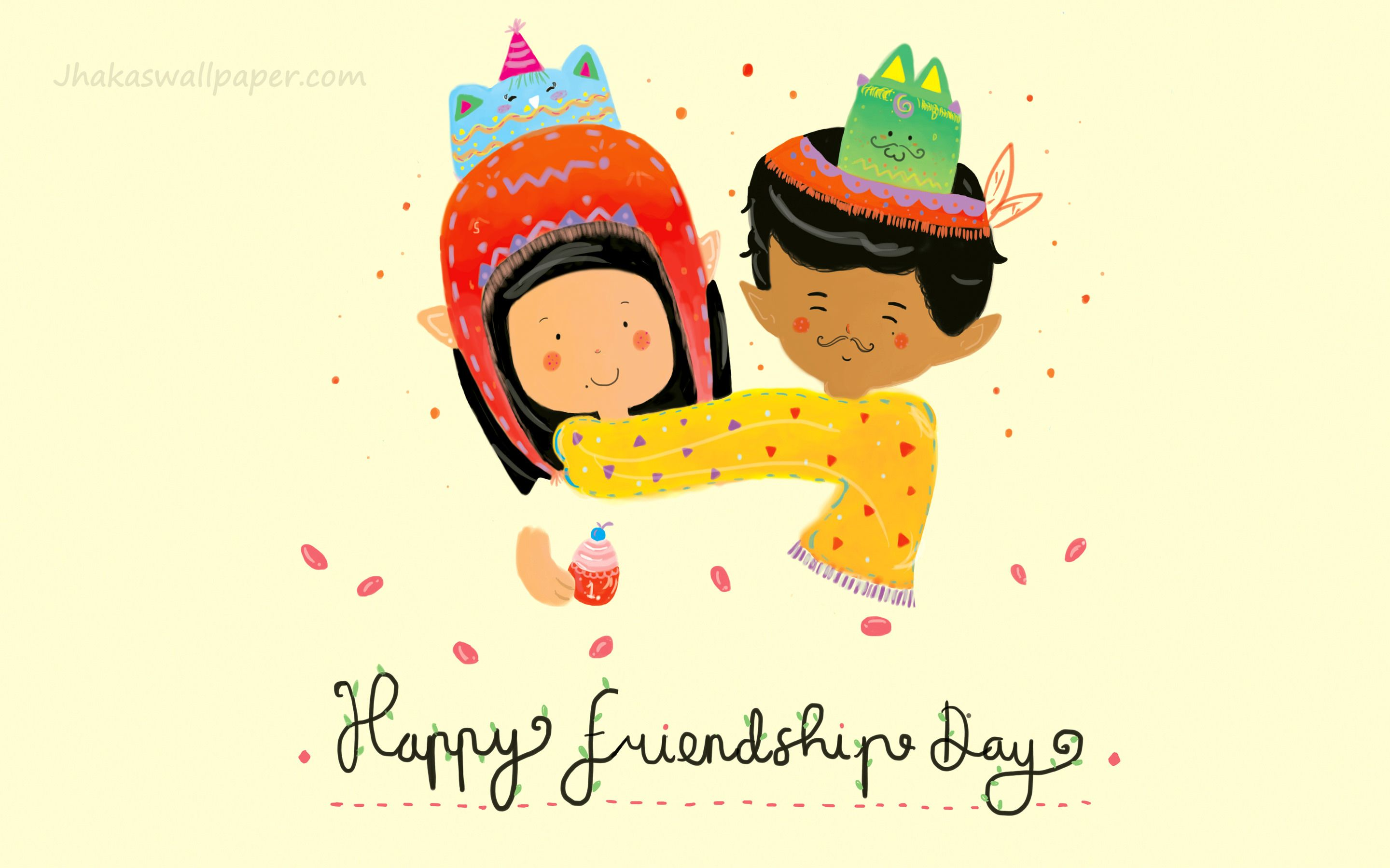 Friendship day animated boy girl wallpapers jhakaswallpaper friendship day animated boy girl wallpapers kristyandbryce Images