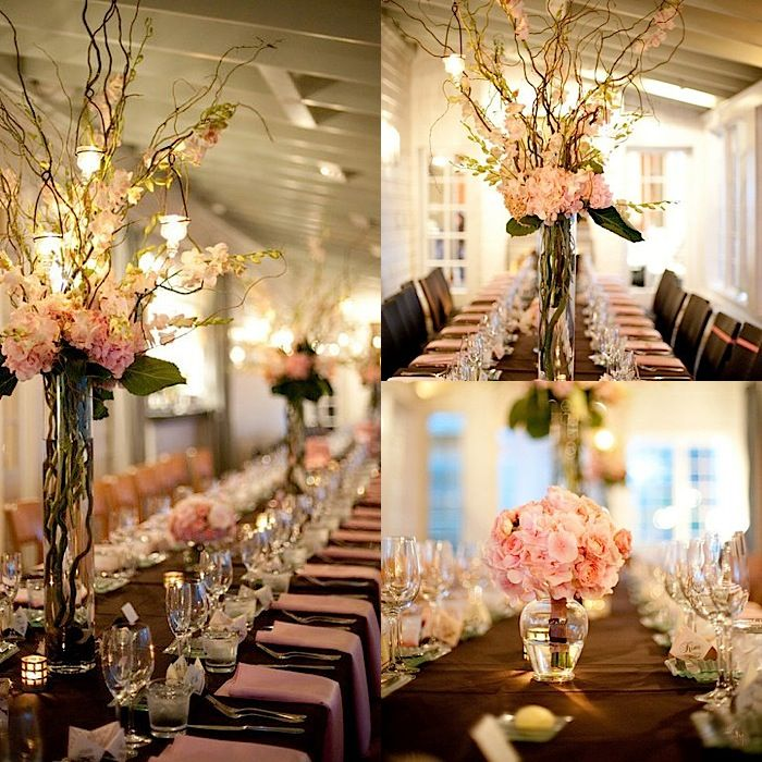 Wedding Flower Center Pieces: 49 The Prettiest Wedding Flower Ideas