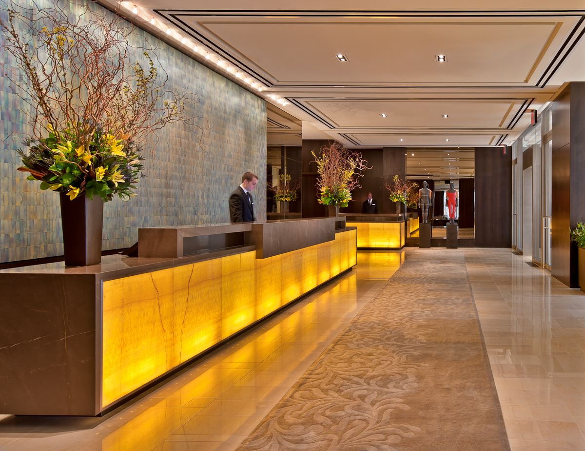 Lights Materials New York Luxury Hotel City