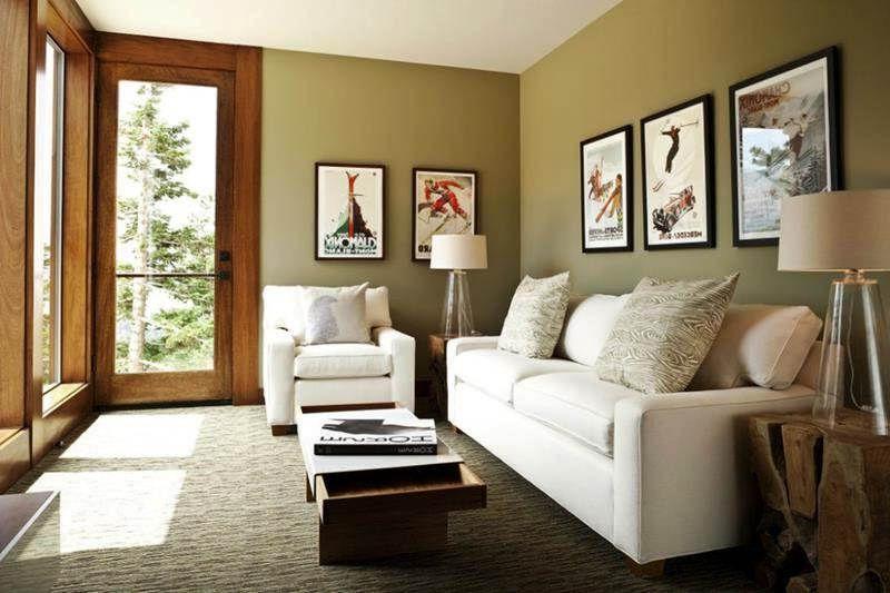 25 Warna Cat Ruang Tamu Sempit Kombinasi Tercantik 2020