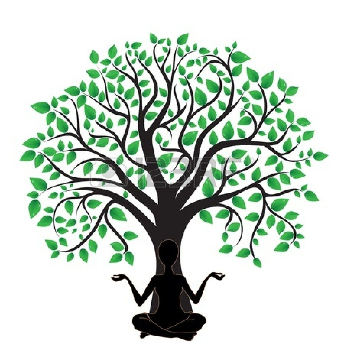 Oak Tree Silhouette Logo Clipart Panda Free Clipart Images | My ...