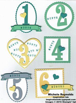 Something for Baby Birthday Month Badges #birthdaymonth