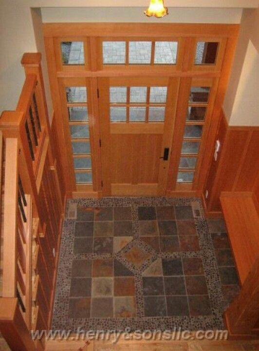 Tiled Entryway Tiles Flooring Floor Design