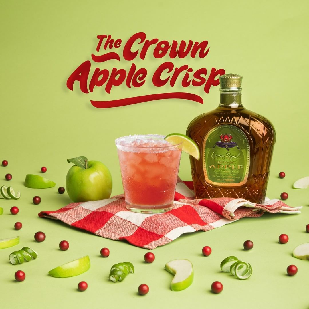 Crown Apple Crisp Margarita 🍏🍎