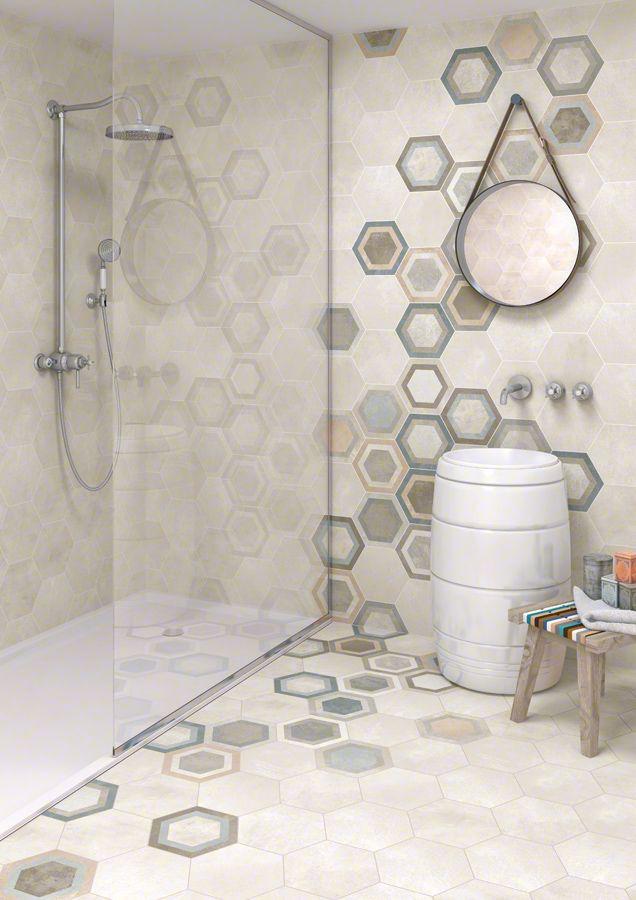 Hexagon Klinker Bushmills Multicolor Kakel Online Tiles R Us Ab
