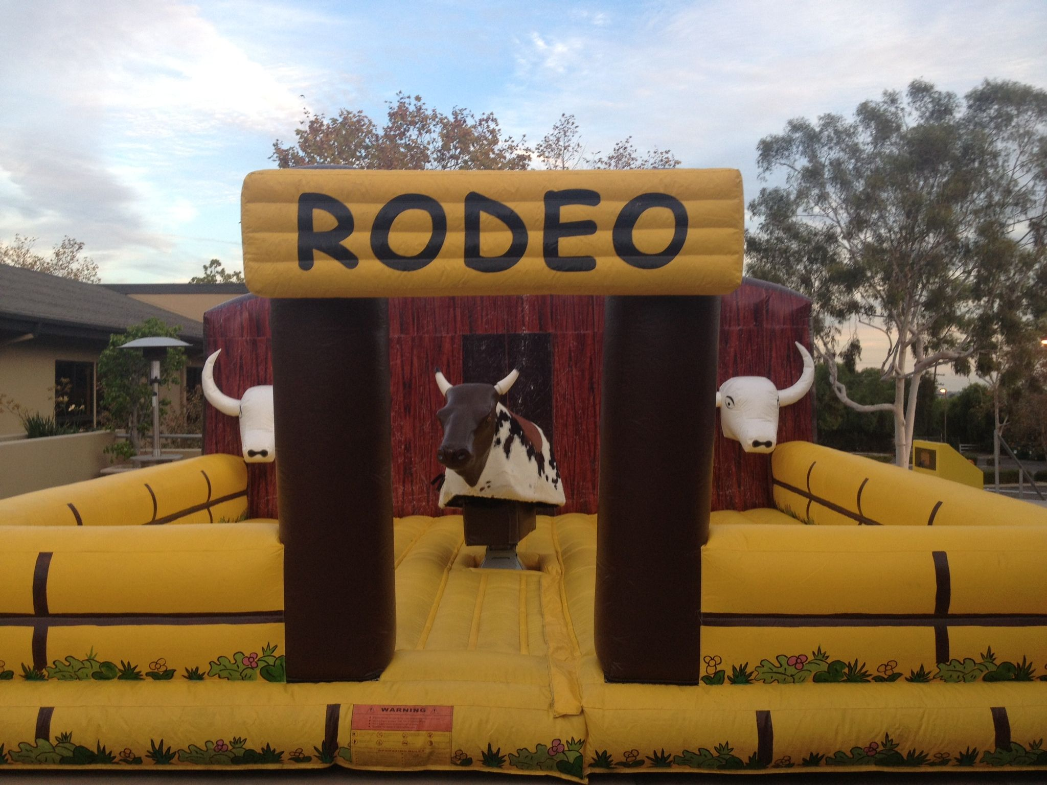 Mechanical bull rental rent bull ride in los angeles