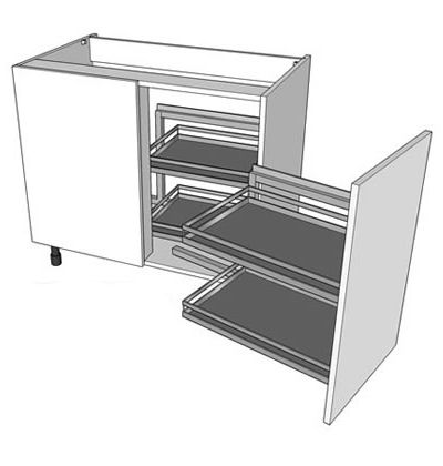 A Magic Corner Kitchen Base Unit   Http://www.diy Kitchens