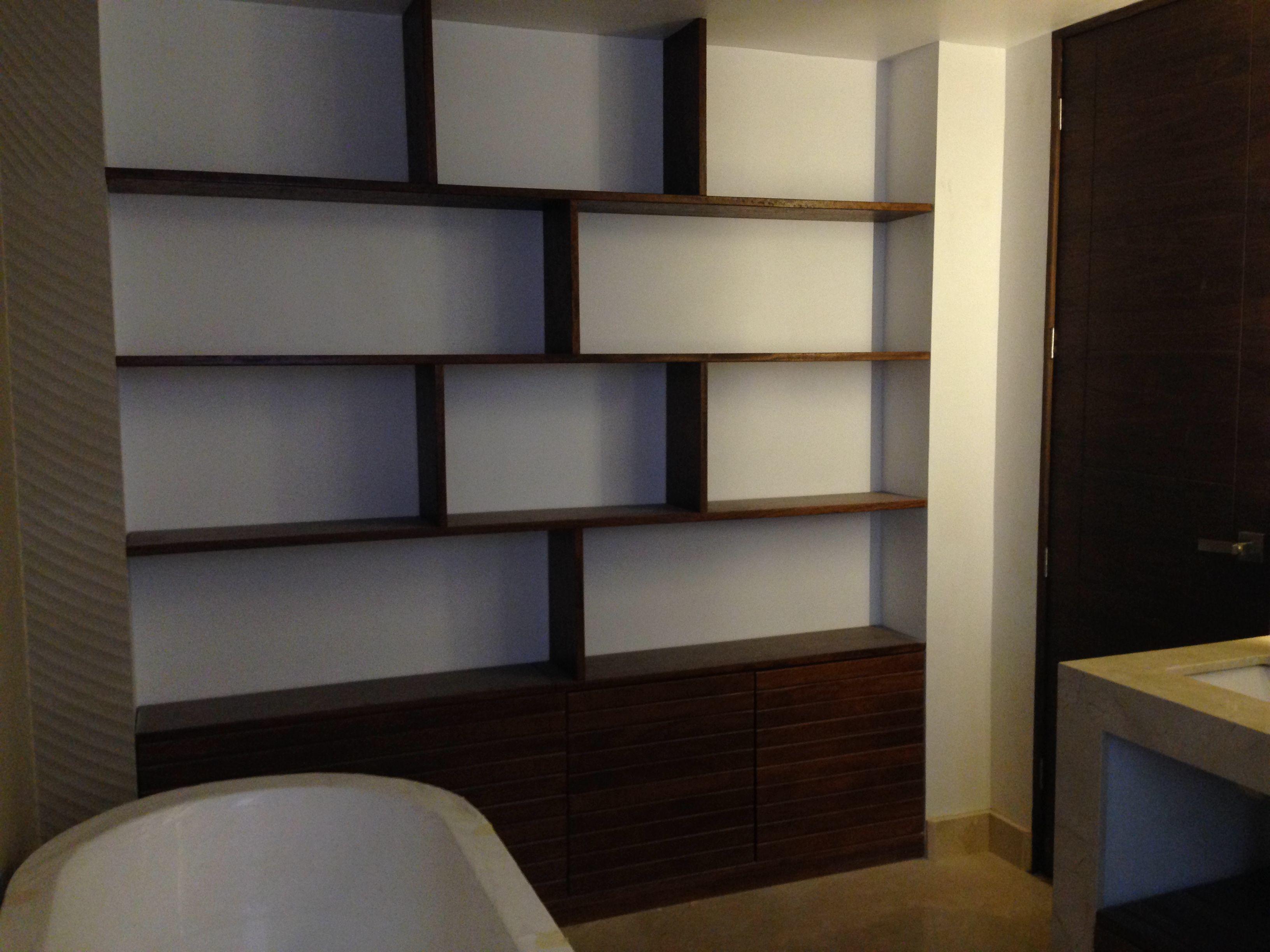 Mueble Para Ba O De Teca Muebles Pinterest Ba O De Teca  # Muebles Teca Interior
