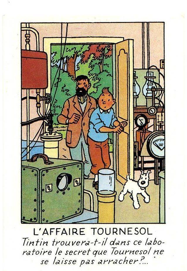 Tintin trouvera-t-il… Hergé