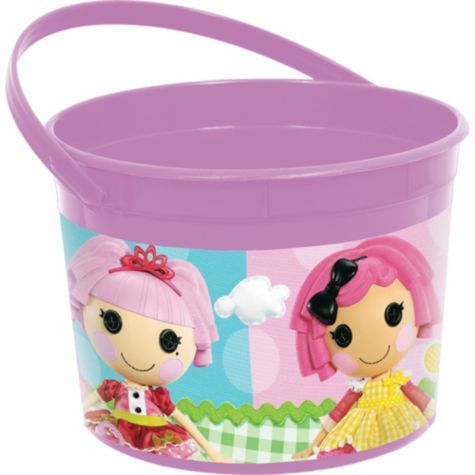 Lalaloopsy Favor Container 4in - Party City