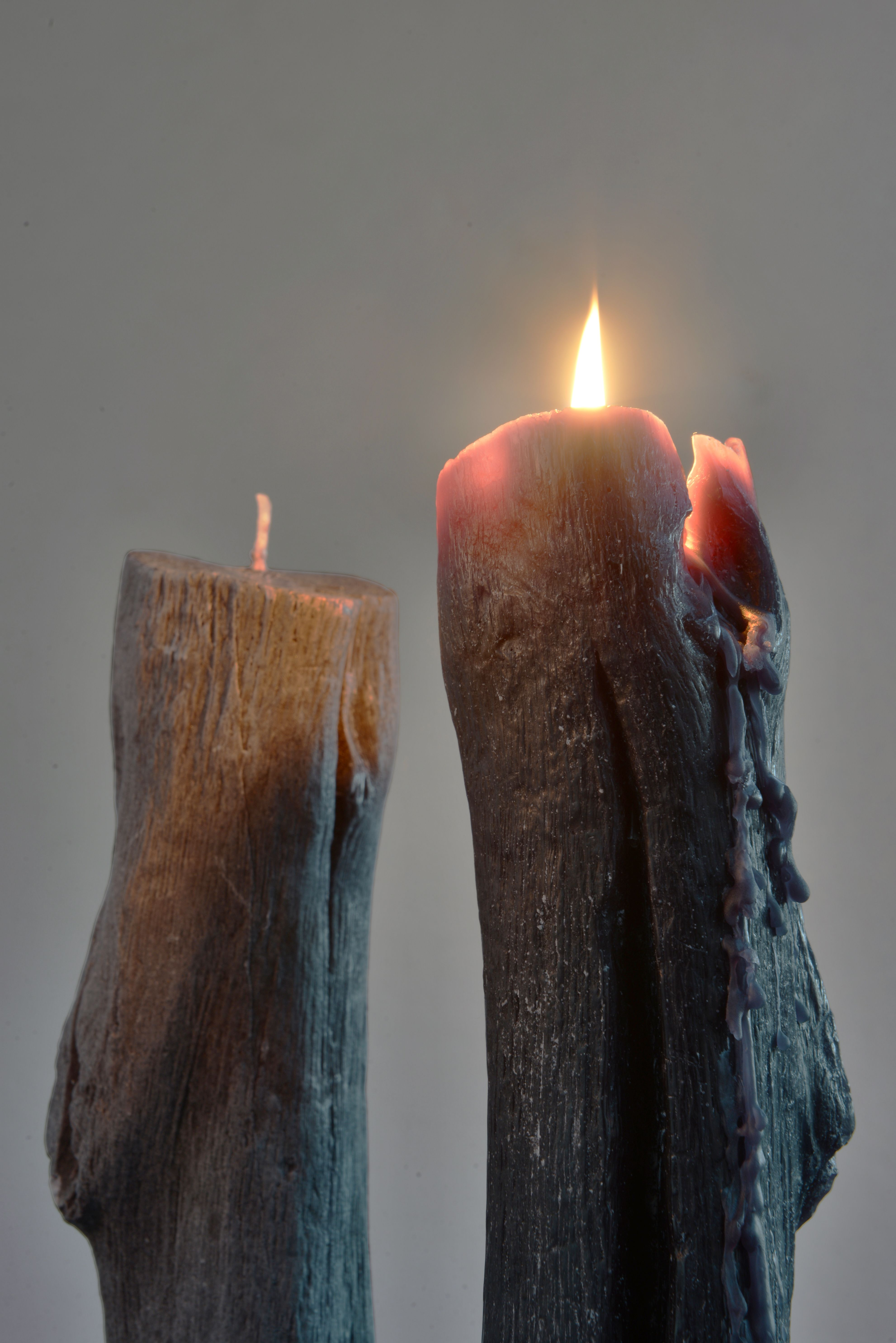 Using plant wax (palm oil), the candle is ecofriendly and