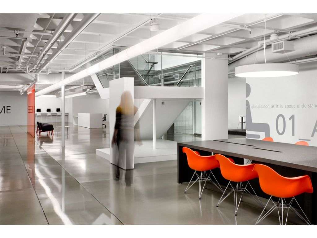 Modern office interior design modern office architecture for Interior design of office space