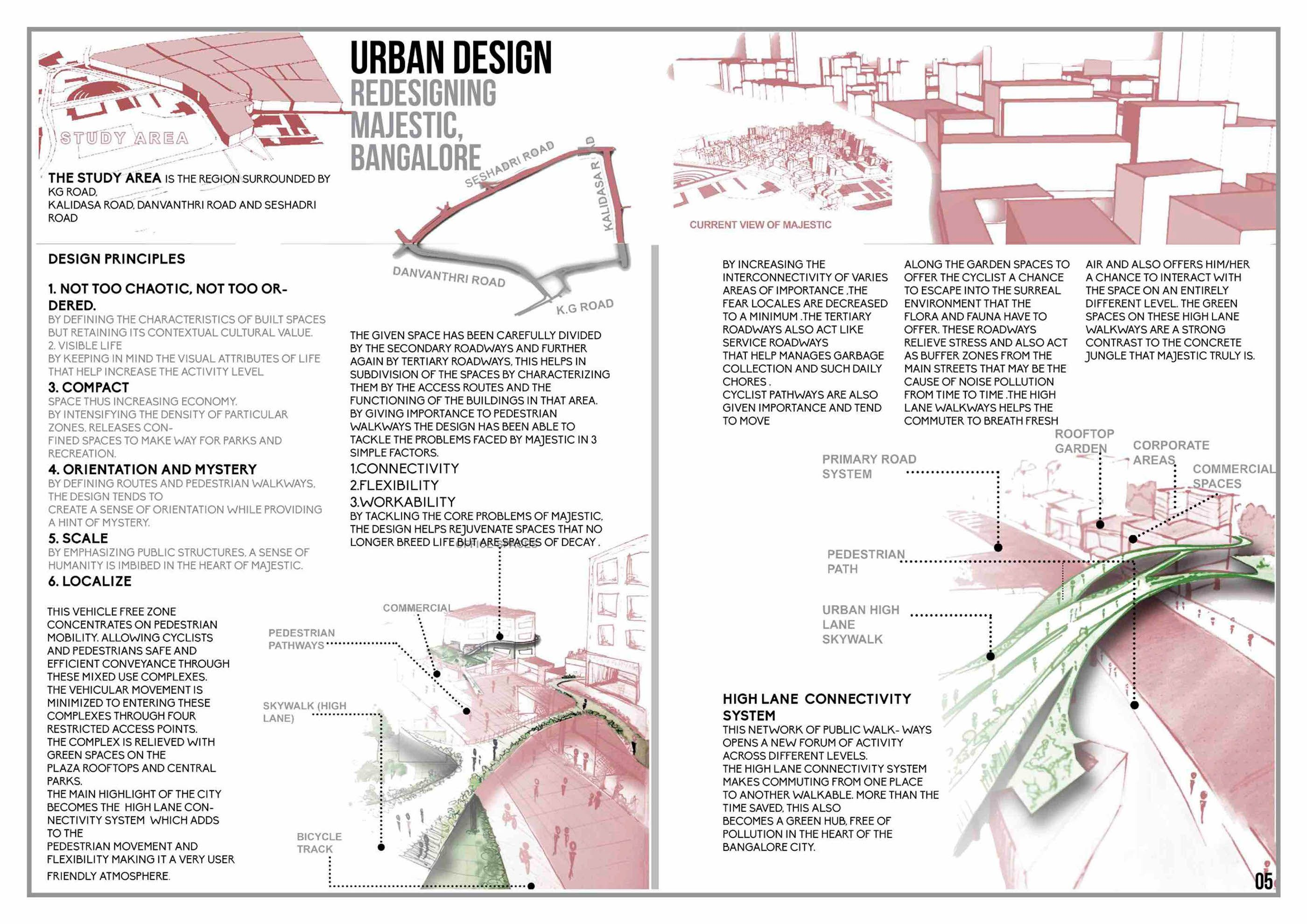 undergraduate architecture portfolio on Behance