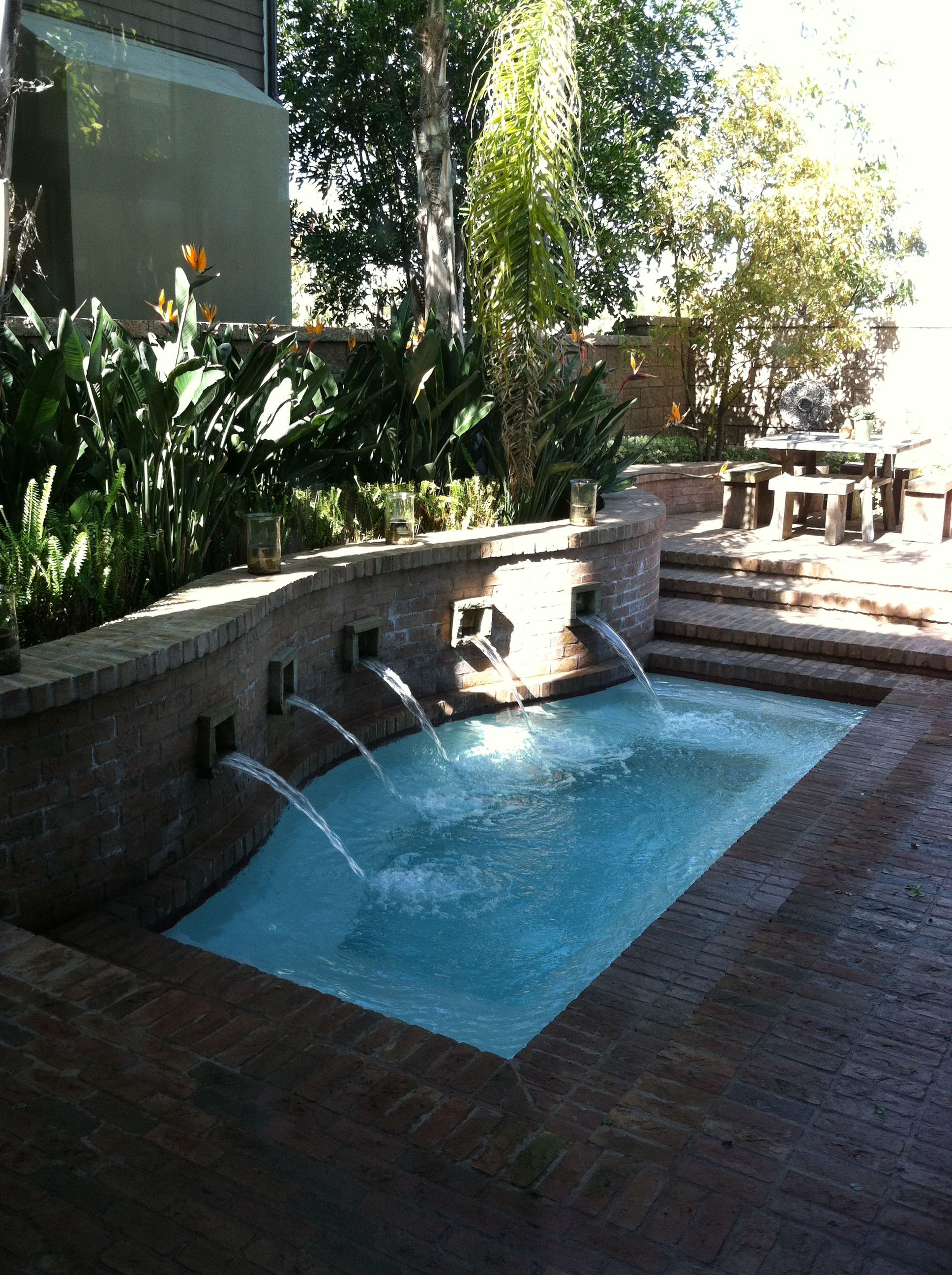 A beautiful large jacuzzi...yes! | Outdoor Home Ideas | Pinterest ...