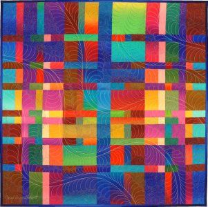 9168b38565 The design for this quilt is based on the orderly progressions of scale,  observed in nature by thirteenth century mathematician Leonard Fibonacci.