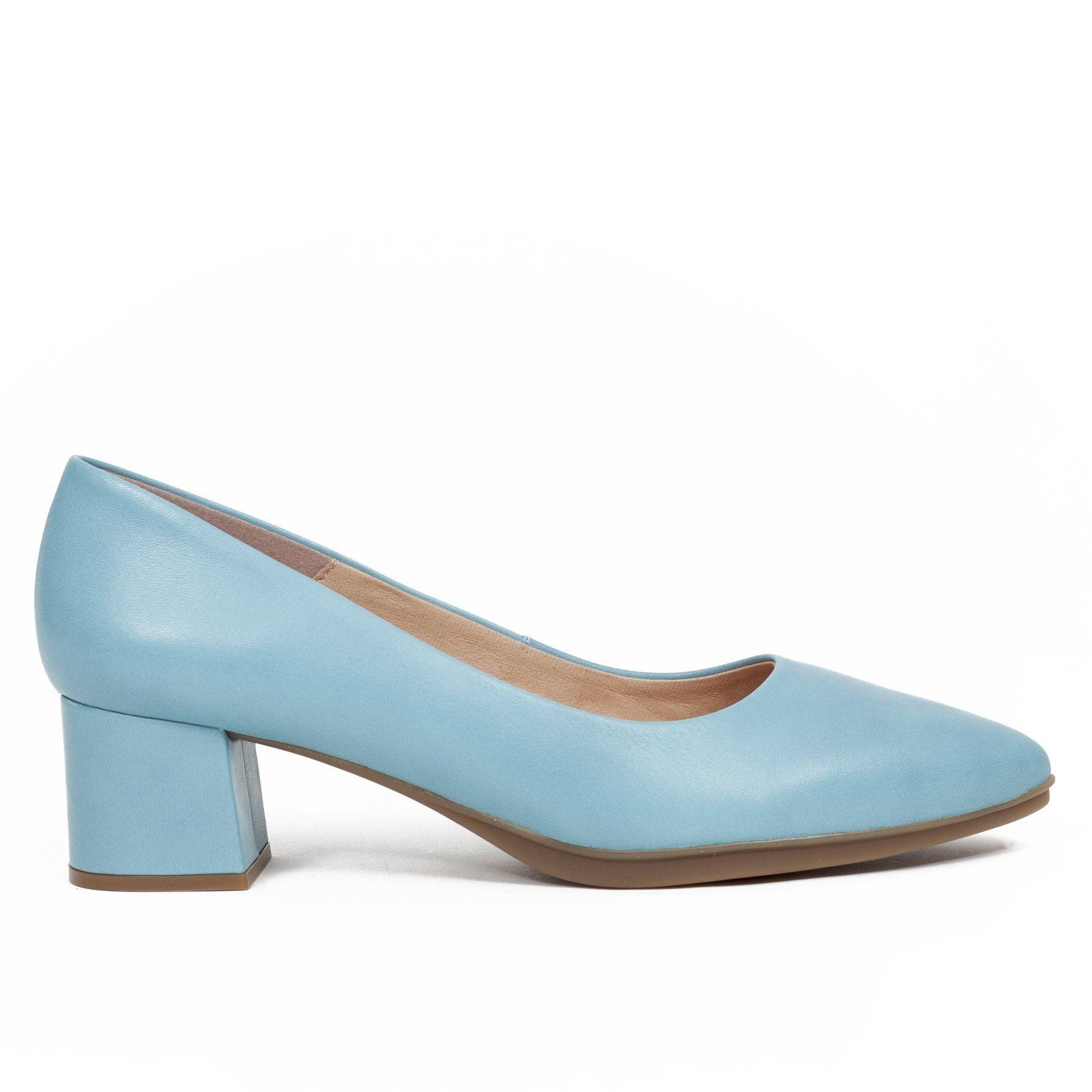 Zapato de tacón bajo Urban XS Azul Celeste | Zapatos para
