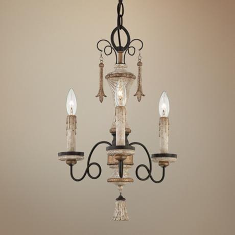 "Jessica McClintock Provence 15"" Wide Mini Chandelier - #2D797   LampsPlus.com"
