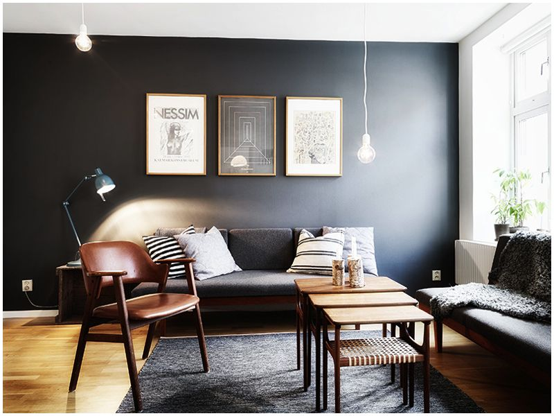 retro indretning lys retro indretning | Sort væg | Pinterest | Decoración retro indretning