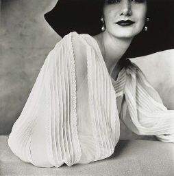 Irving Penn (b. 1917)  Large Sleeve (Sunny Harnett), New York, 1951  gelatin silver print, printed 1984