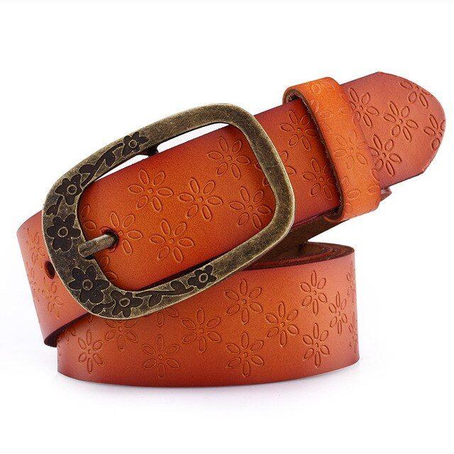 Cetiri ladies leather belt wide leather belt woman jeans belts straps ceinture femme