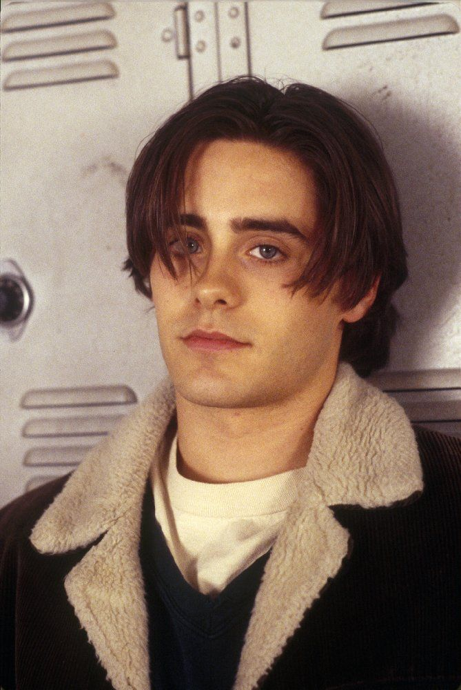 High School Tv And Movie Icons Then And Now Jared Leto Young Jared Leto Heartthrob