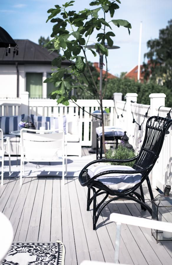 Black and White Deck Design | Landscape | Pinterest | Decking ...