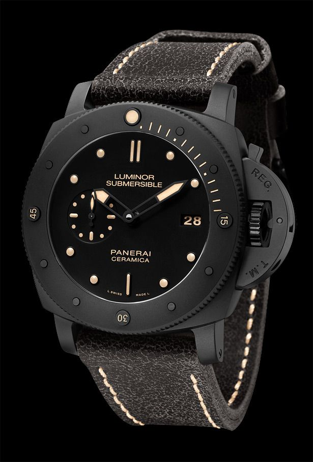 57fe30ac36b Panerai Luminor Submersible Ceramica (PAM 508) Relógio Celular