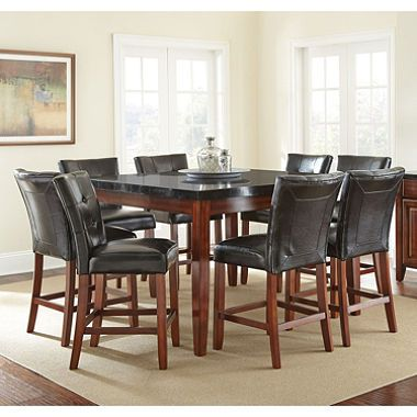 Scott Counter Height Table and 8-Chair Dining Set Dining, Dining