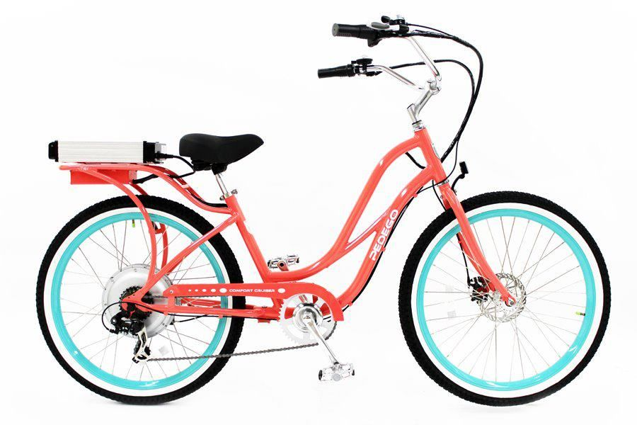 Electric Bicycles Pedego Electric Bikes Electric Bike Beach Cruiser Electric Bike Bike