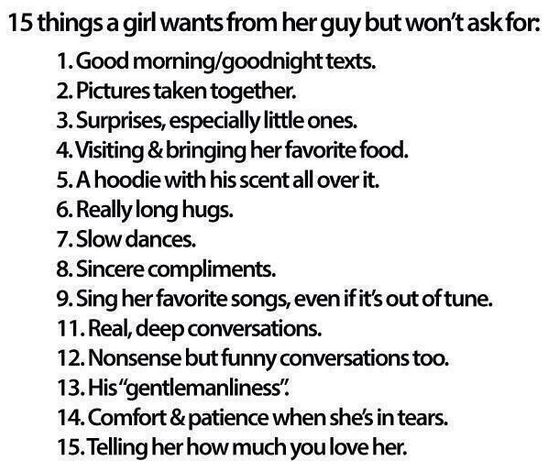What Do Guys Want From Girls