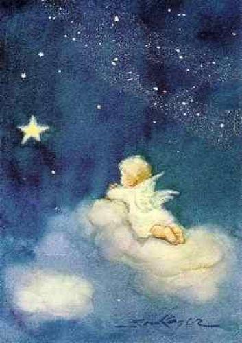Photo of Erica von Kager – angel on cloud