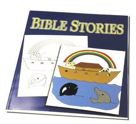 Bible Stories Magic Coloring Book - Magic Trick With \