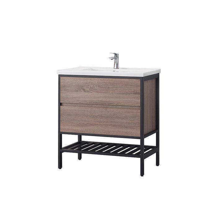"Memphis 32"" Single Bathroom Vanity Set | Single bathroom ..."