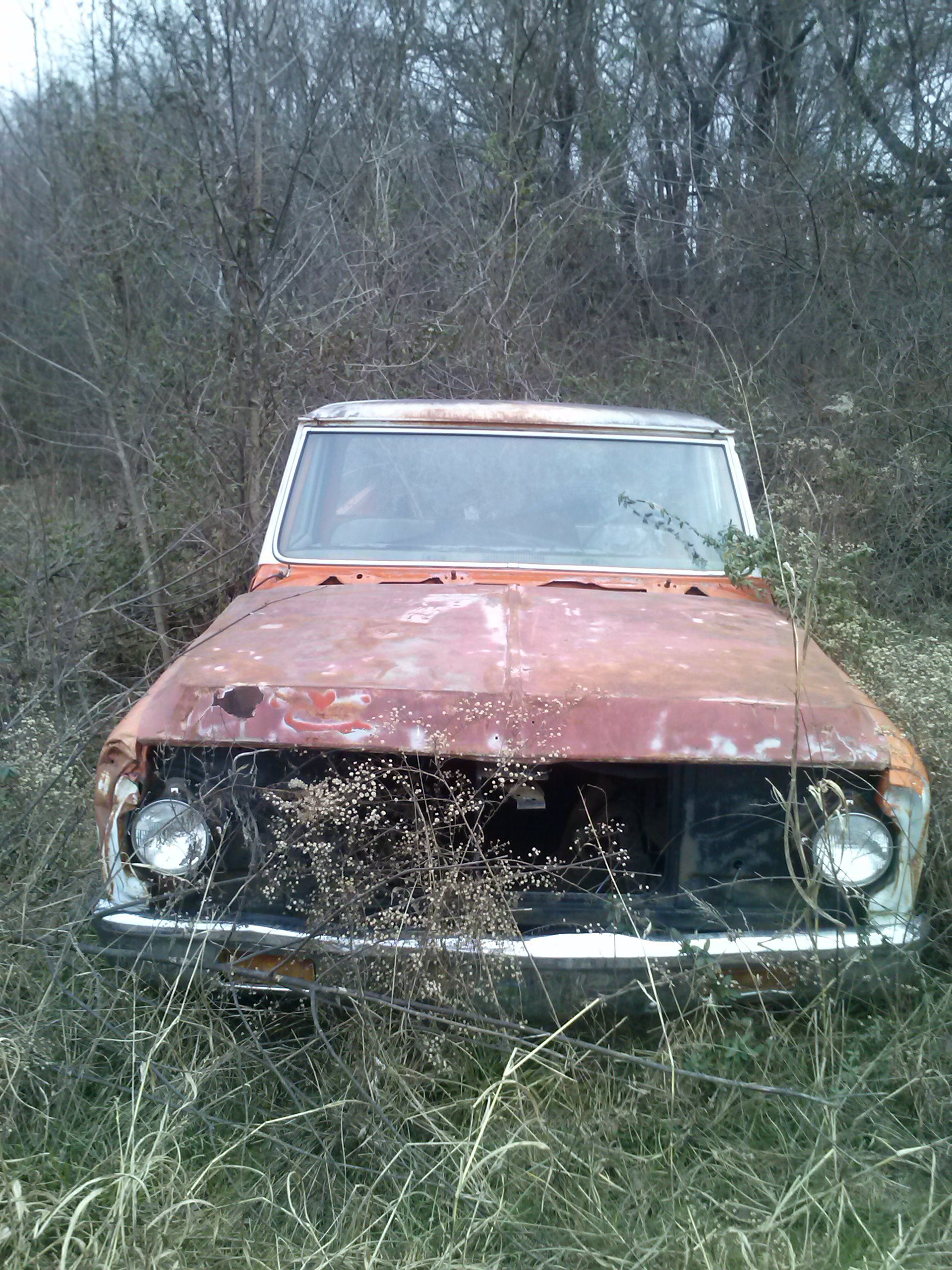 Chevy Pickup With Lots Of Patina Once A Work Horse Now Retired