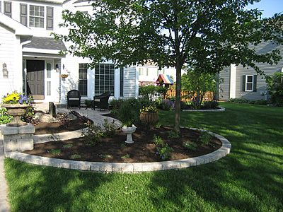 Incroyable Landscape For Around My Fruit Trees. Landscaping Front YardsBackyard ...