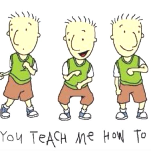 90's kid version of the teach me how to dougie dance