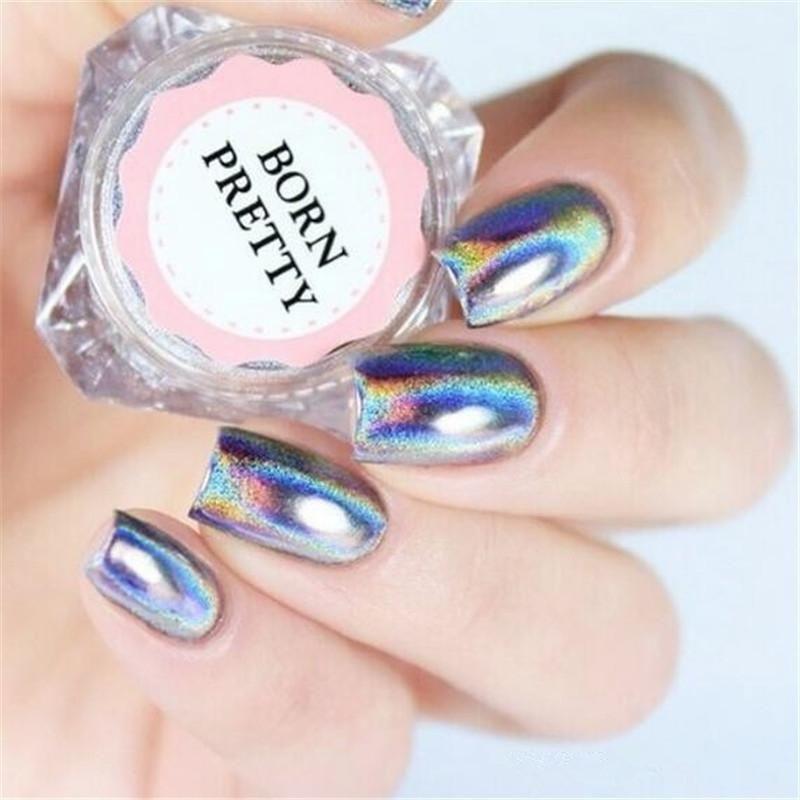 cbd3639672 Free Shipping) Holographic Laser Nail Glitters Holo Rainbow Nail Art ...